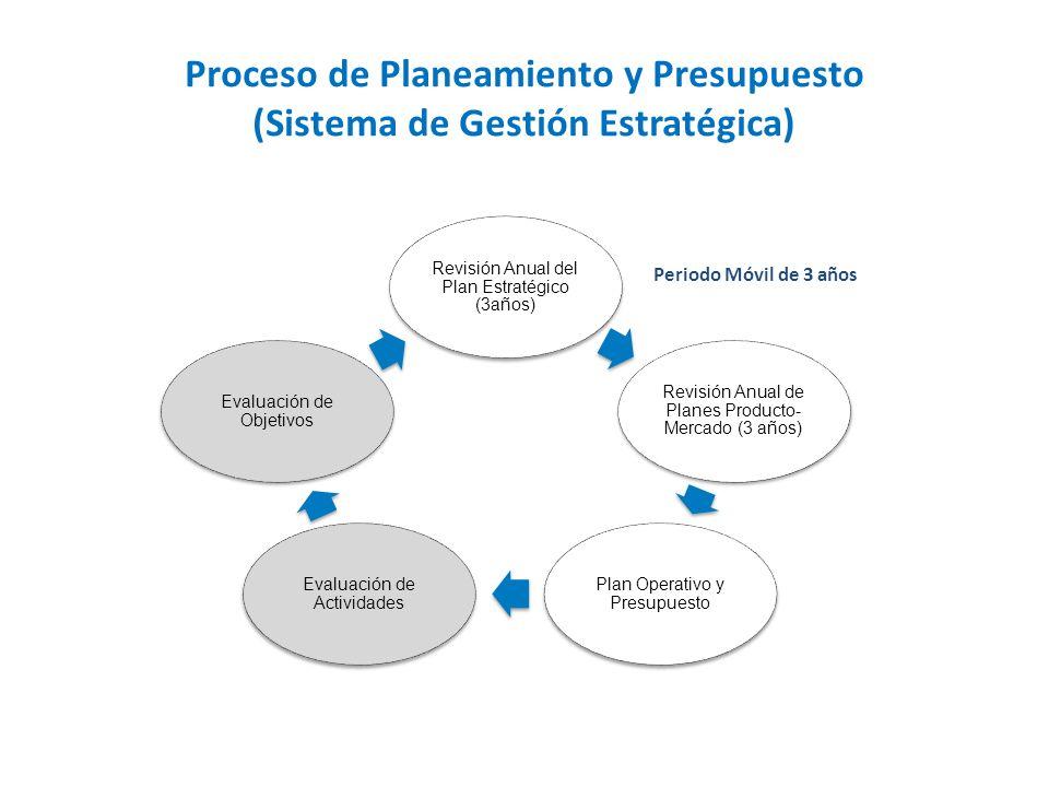 Proceso de Planeamiento y Presupuesto (Sistema de Gestión Estratégica)