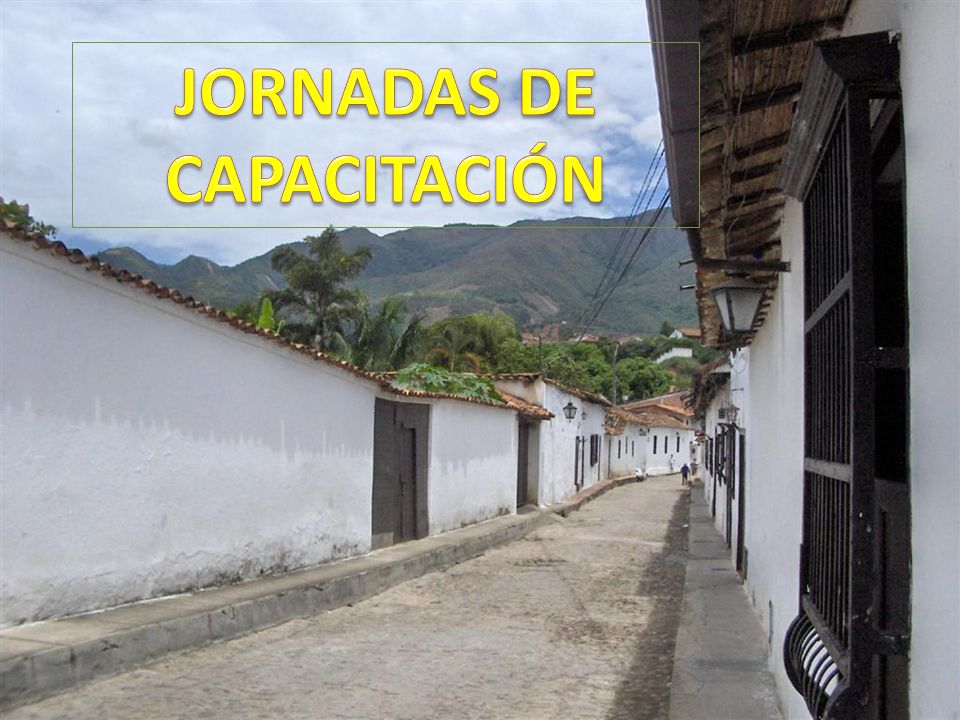 JORNADAS DE CAPACITACIÓN