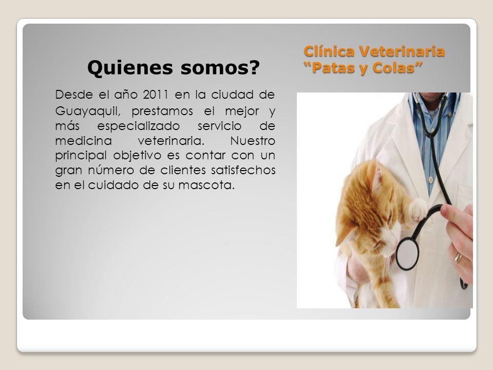 Clínica Veterinaria Patas y Colas