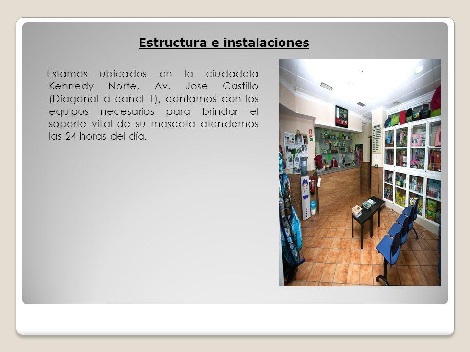 Estructura e instalaciones
