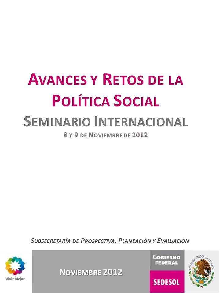 Avances y Retos de la Política Social