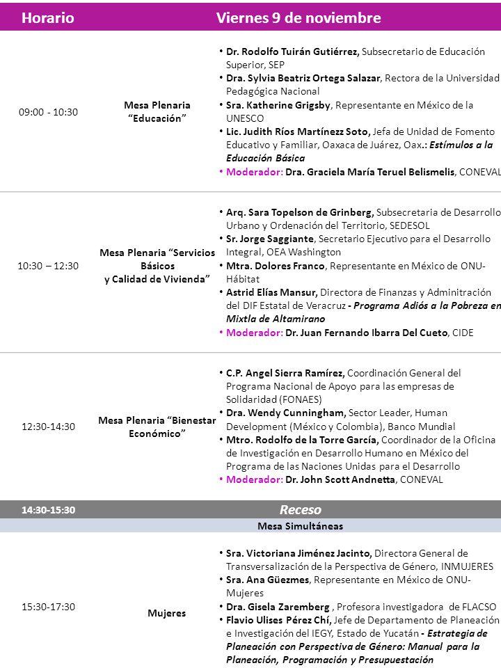 Programa del Seminario