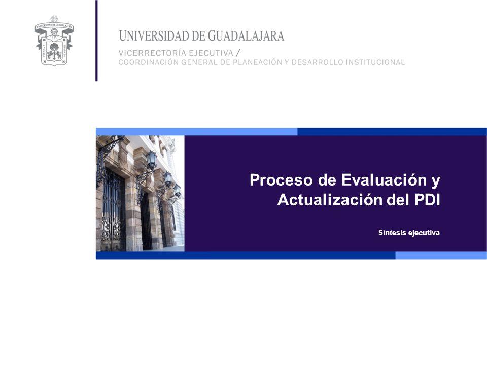 Proceso de Evaluación y Actualización del PDI
