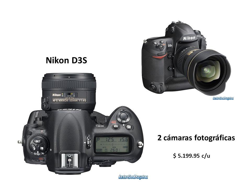 Nikon D3S 2 cámaras fotográficas $ 5.199.95 c/u