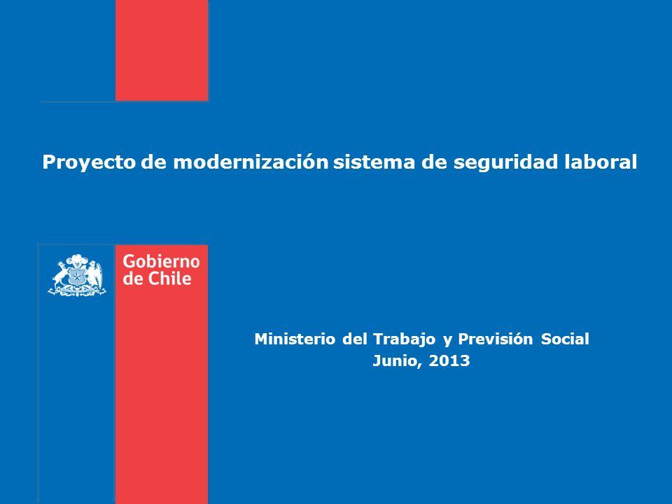 Proyecto de modernización sistema de seguridad laboral