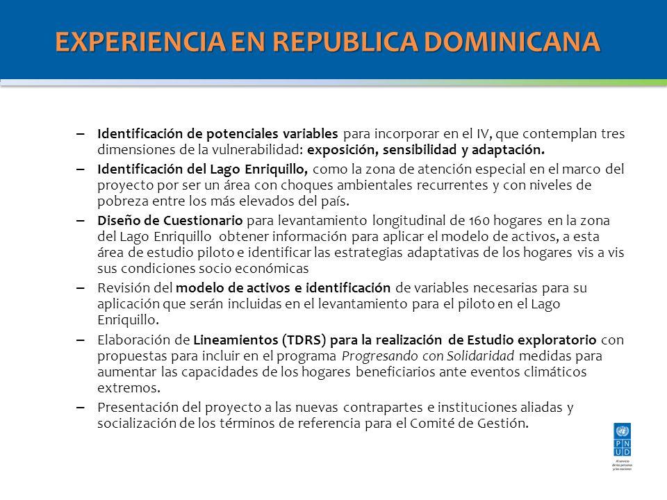 EXPERIENCIA EN REPUBLICA DOMINICANA