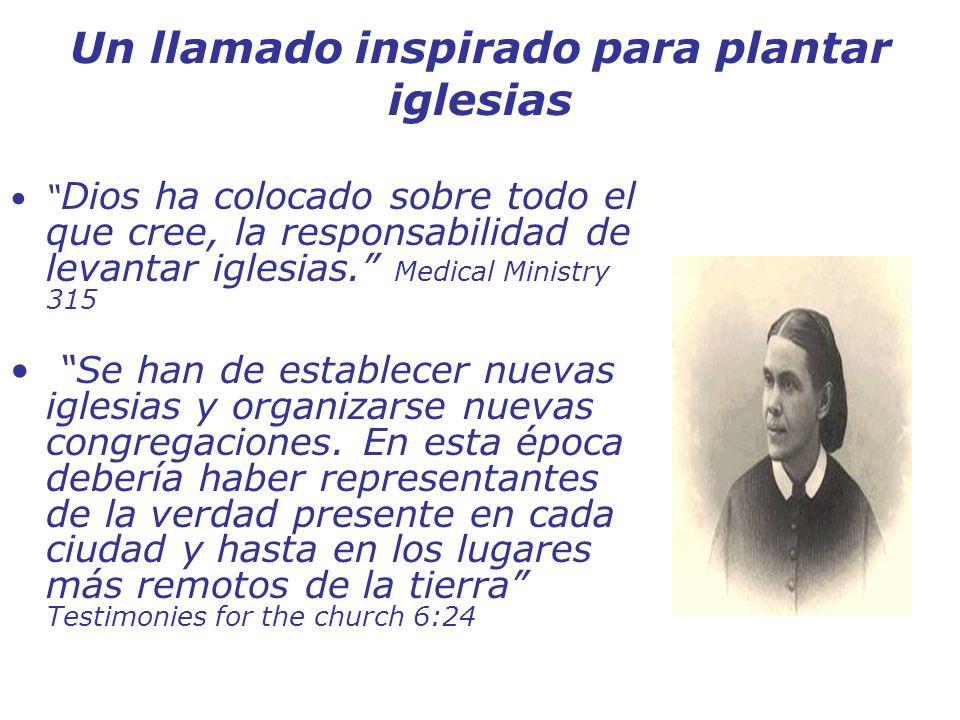 Un llamado inspirado para plantar iglesias