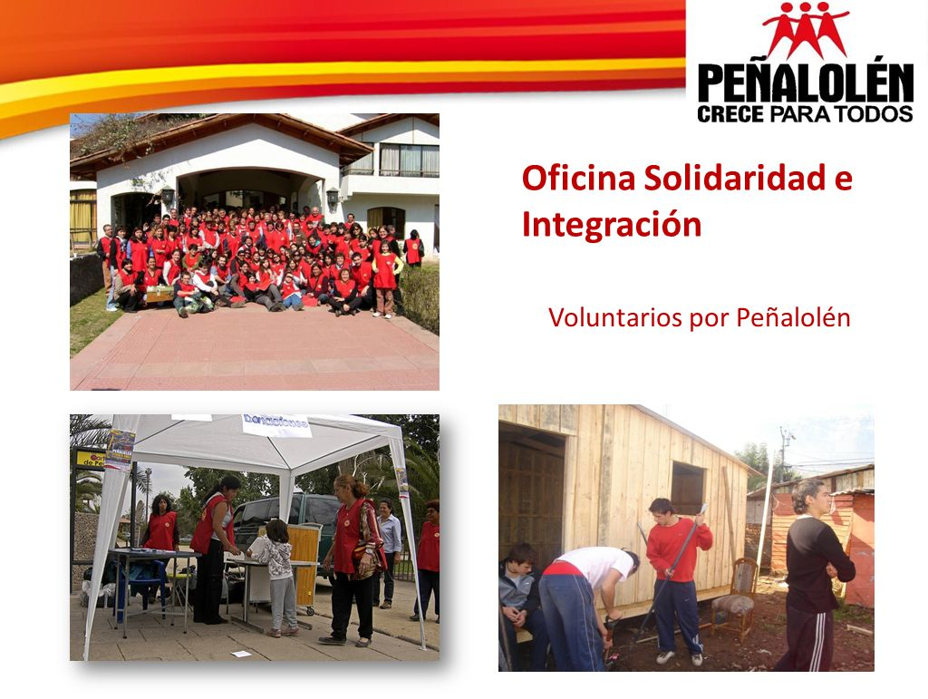 Oficina Solidaridad e Integración Voluntarios por Peñalolén