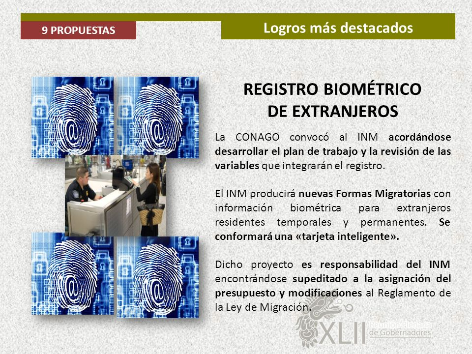 REGISTRO BIOMÉTRICO DE EXTRANJEROS