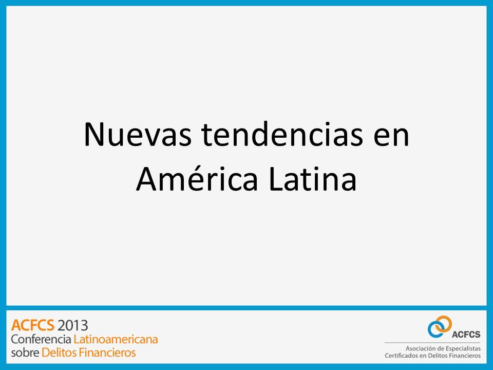 Nuevas tendencias en América Latina