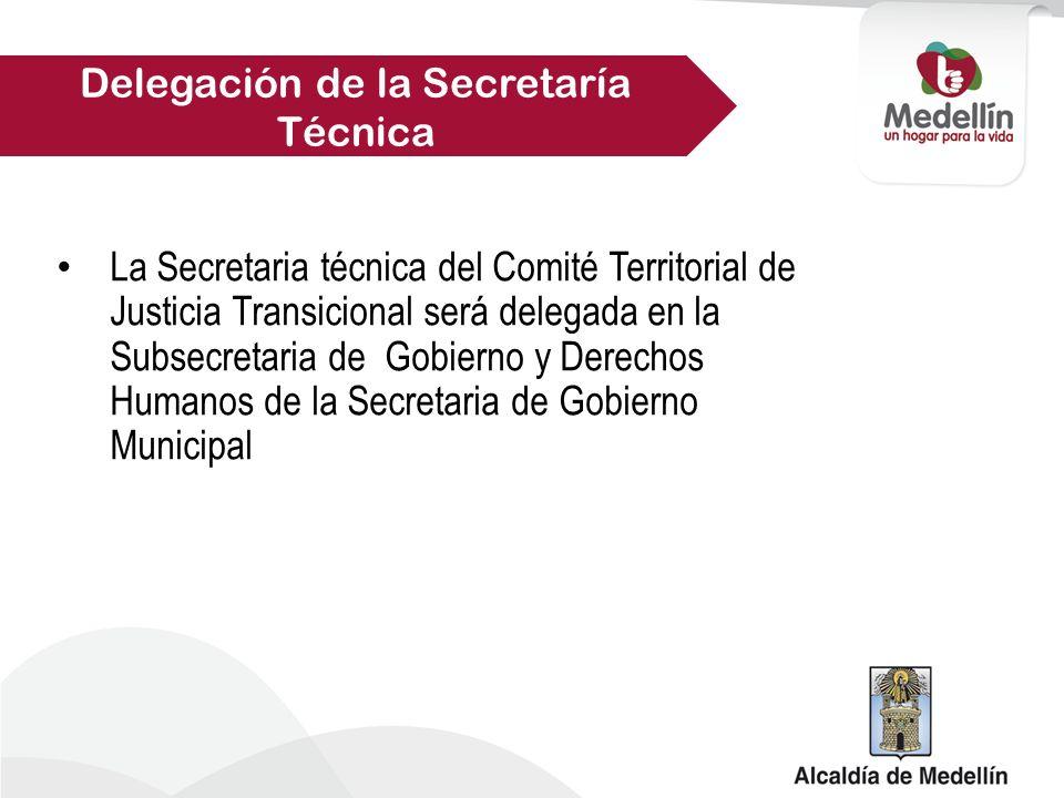Delegación de la Secretaría Técnica