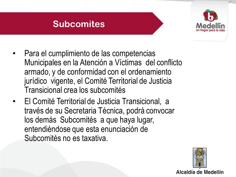 Subcomites