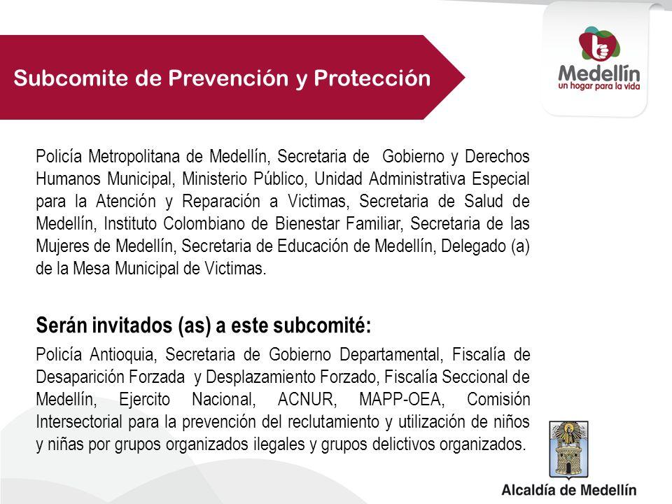 Subcomite de Prevención y Protección