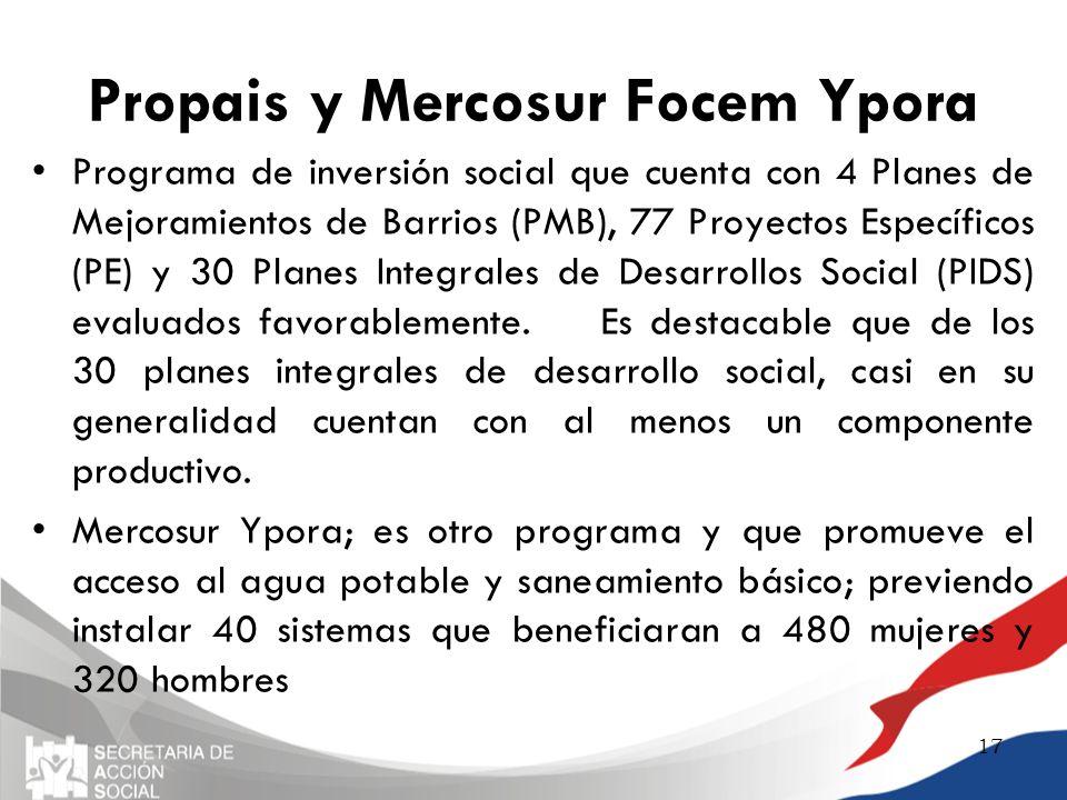Propais y Mercosur Focem Ypora