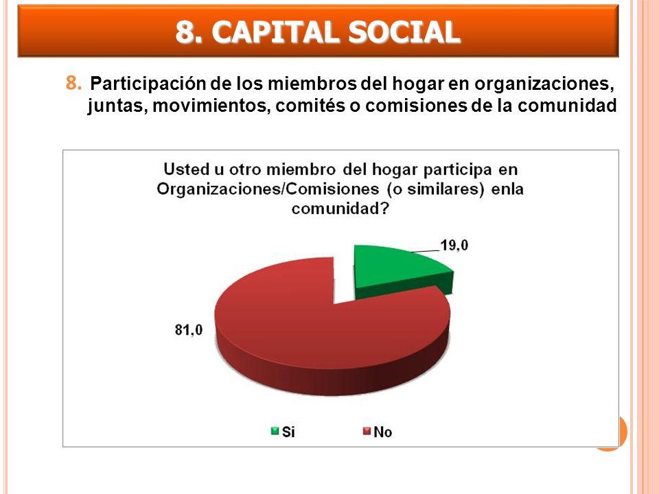 8. CAPITAL SOCIAL 8.