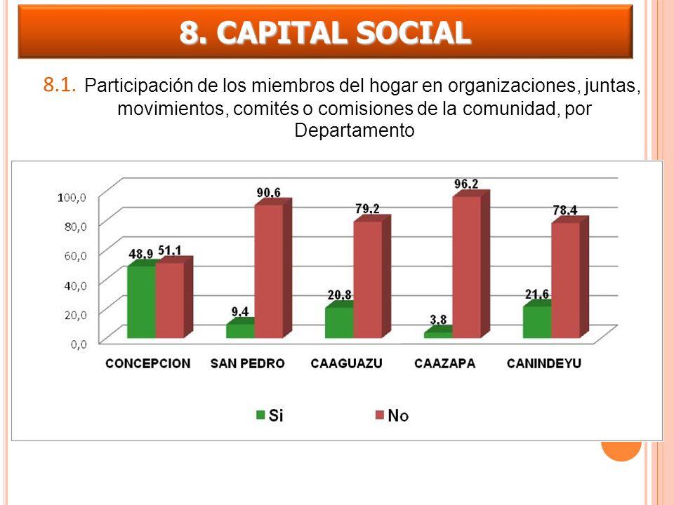 8. CAPITAL SOCIAL