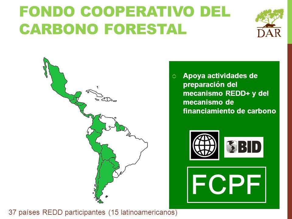 FCPF FONDO COOPERATIVO DEL CARBONO FORESTAL