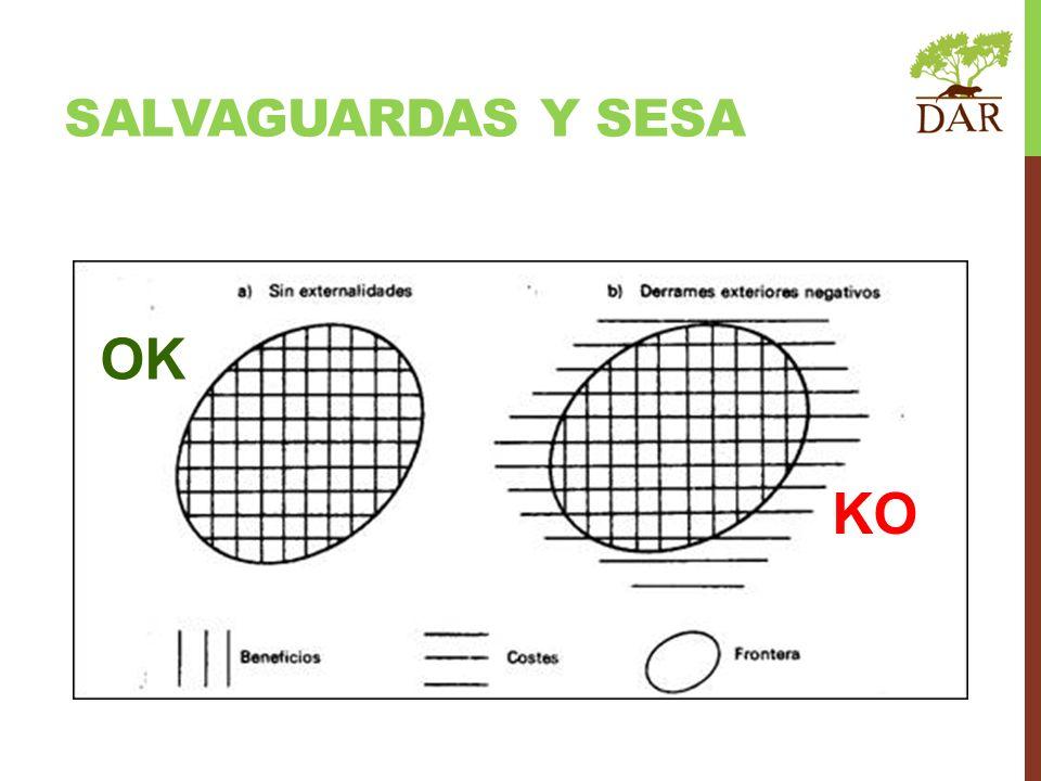 Salvaguardas y SESA OK KO