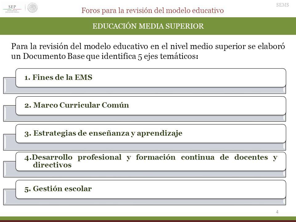 EDUCACIÓN MEDIA SUPERIOR