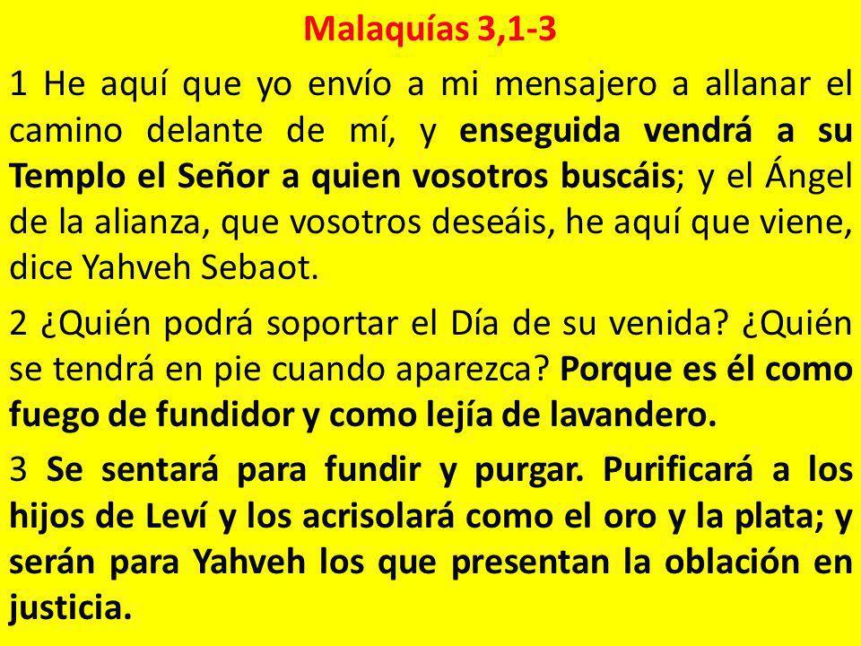 Malaquías 3,1-3