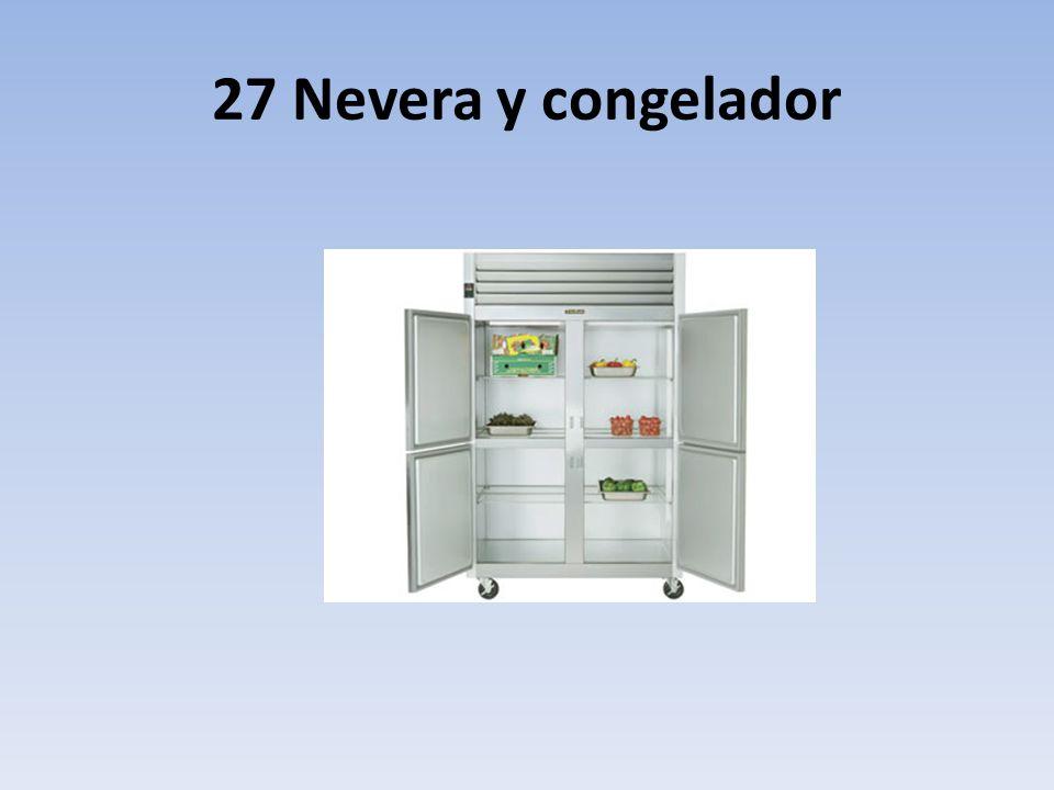 27 Nevera y congelador