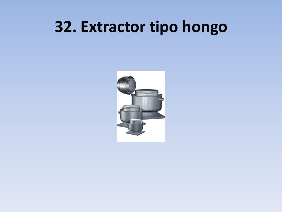 32. Extractor tipo hongo