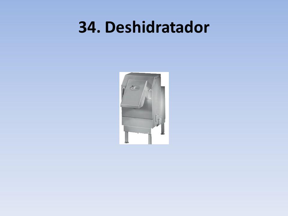 34. Deshidratador