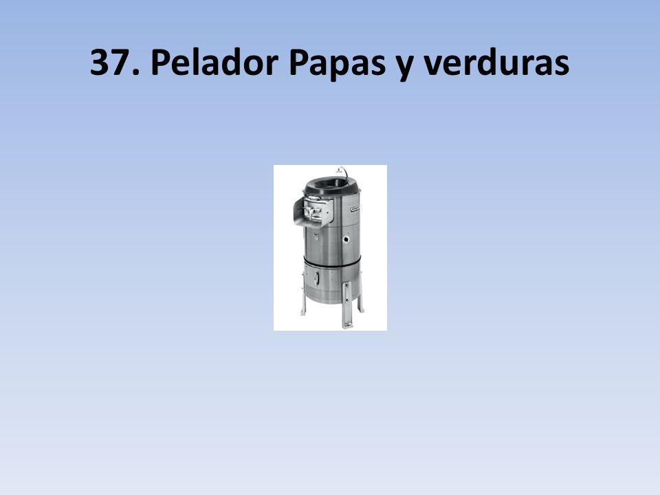 37. Pelador Papas y verduras