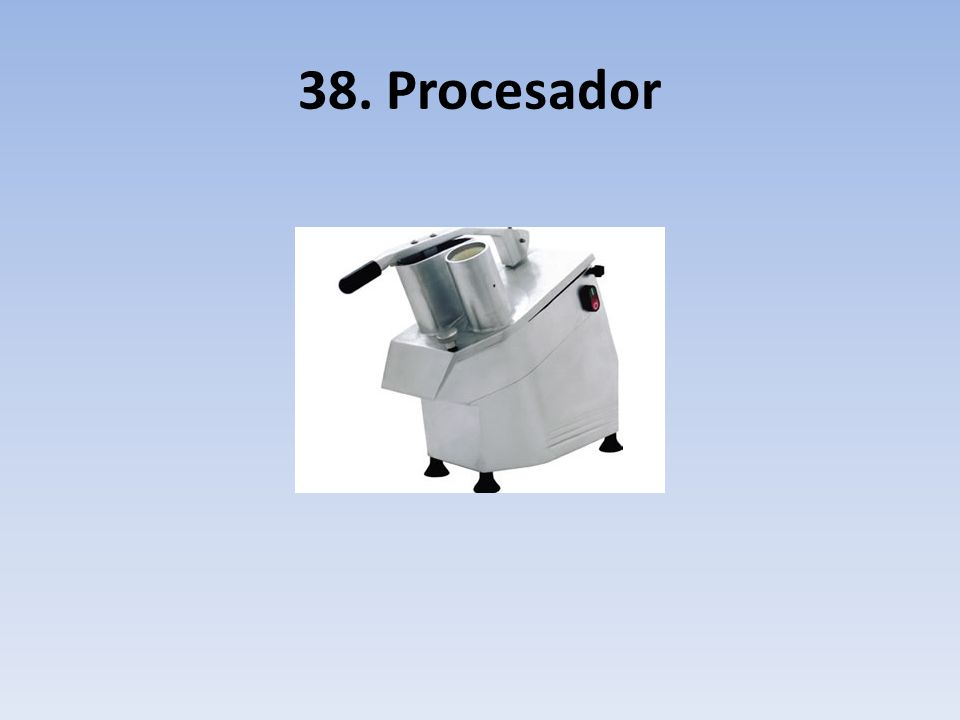 38. Procesador
