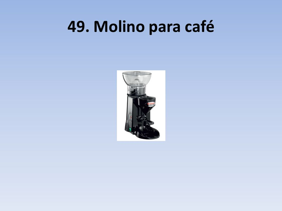 49. Molino para café