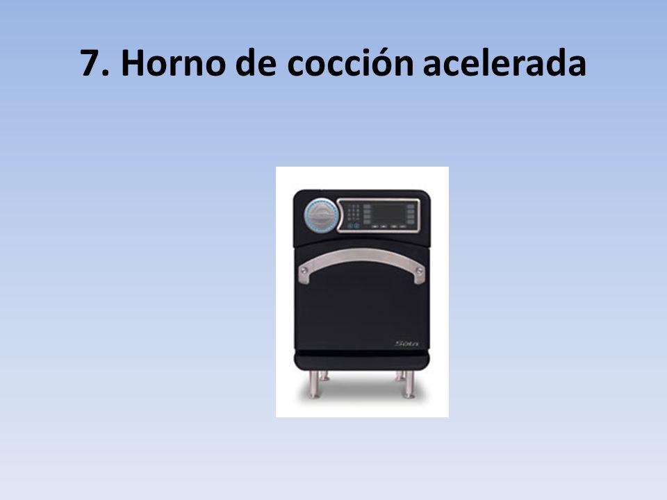 7. Horno de cocción acelerada