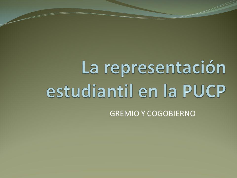 La representación estudiantil en la PUCP
