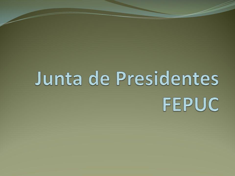 Junta de Presidentes FEPUC