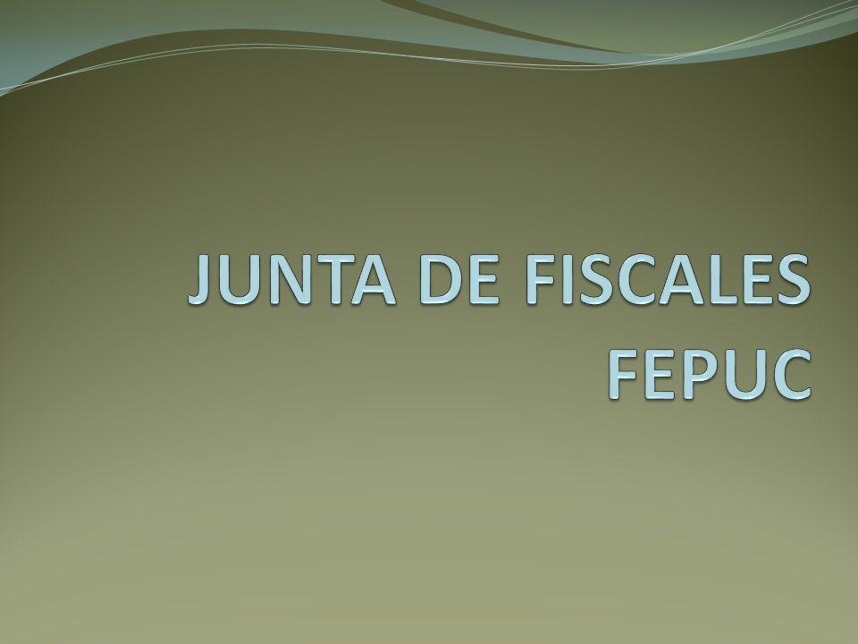 JUNTA DE FISCALES FEPUC