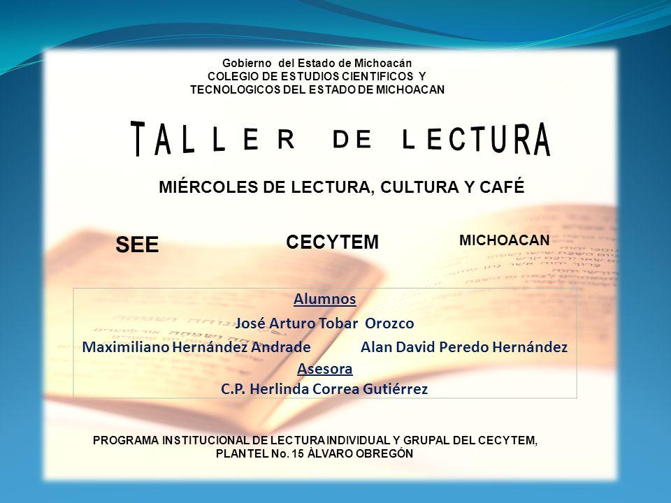 SEE CECYTEM Alumnos José Arturo Tobar Orozco