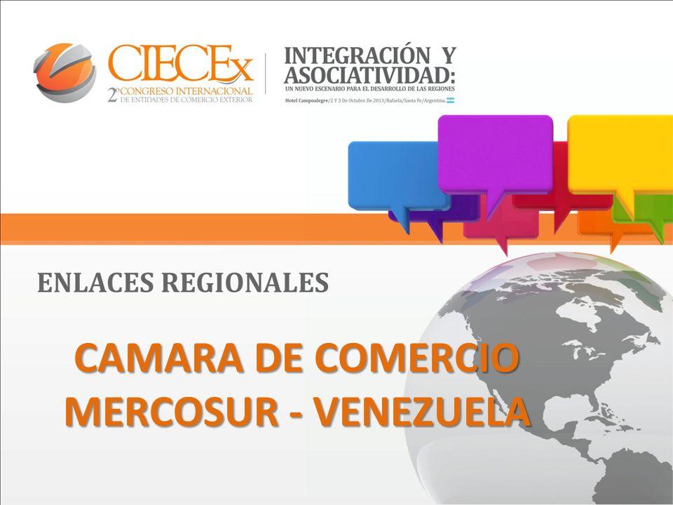 CAMARA DE COMERCIO MERCOSUR - VENEZUELA