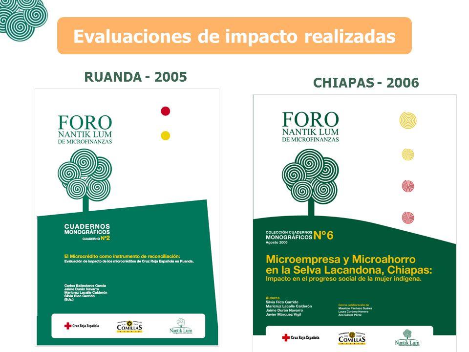Evaluaciones de impacto realizadas