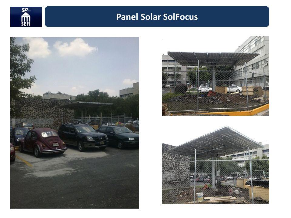 Panel Solar SolFocus