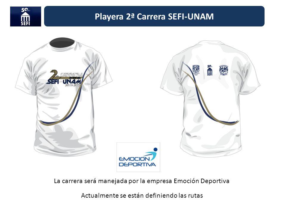 Playera 2ª Carrera SEFI-UNAM