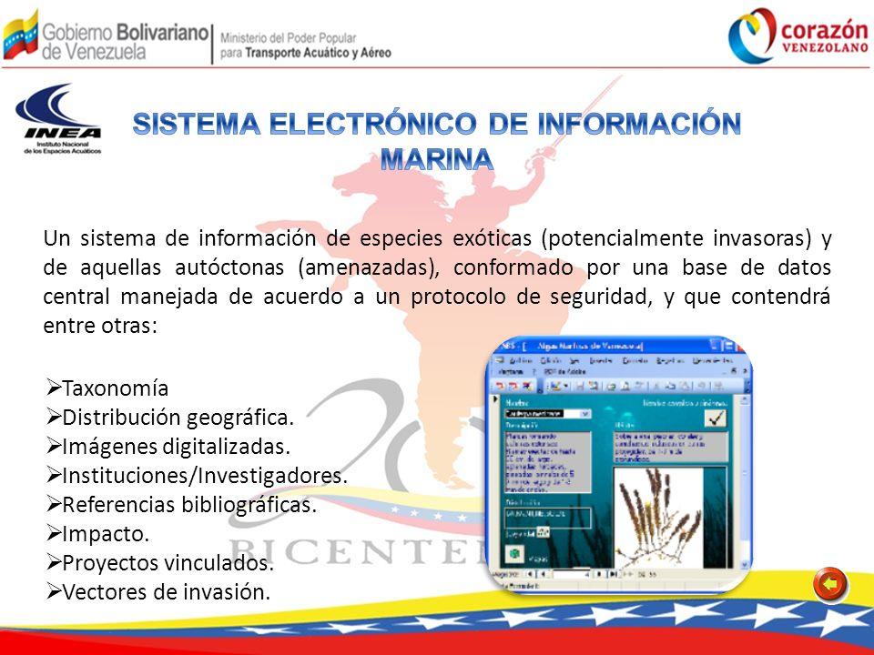 SISTEMA ELECTRÓNICO DE INFORMACIÓN MARINA
