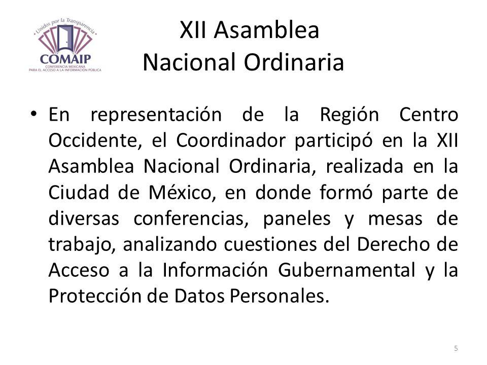 XII Asamblea Nacional Ordinaria