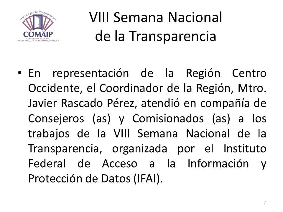 VIII Semana Nacional de la Transparencia