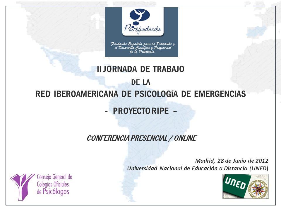 CONFERENCIA PRESENCIAL / ONLINE