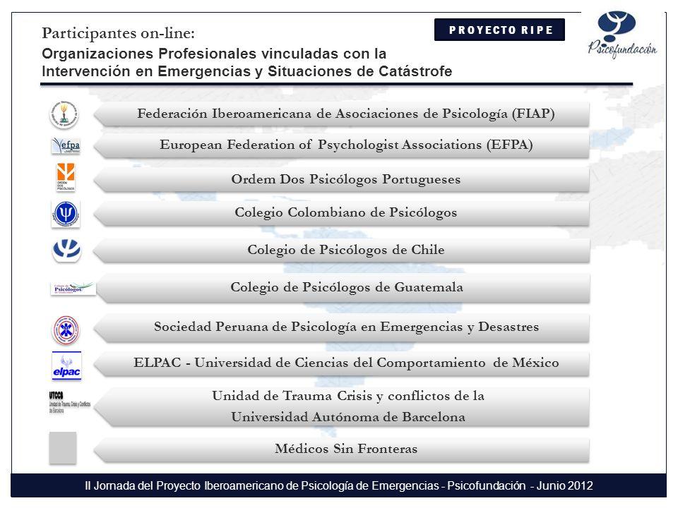 Participantes on-line: