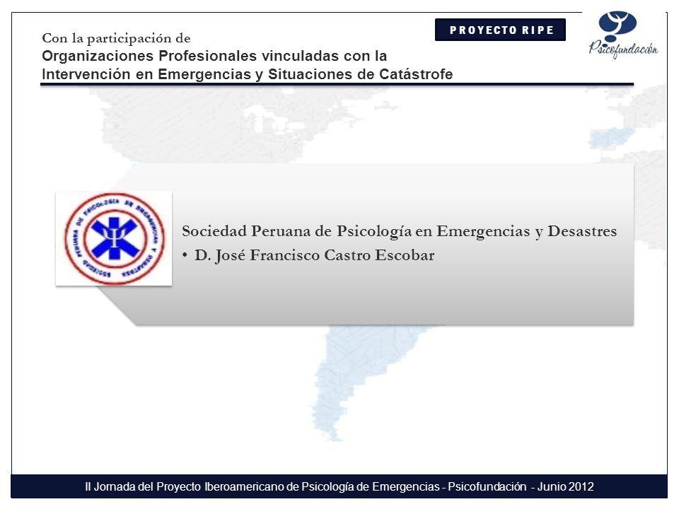 Sociedad Peruana de Psicología en Emergencias y Desastres