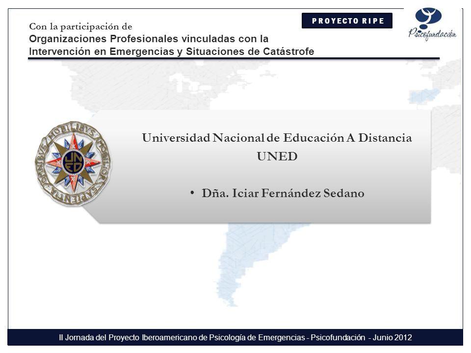 Universidad Nacional de Educación A Distancia UNED