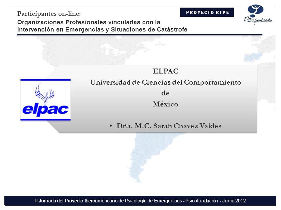ELPAC Universidad de Ciencias del Comportamiento de México