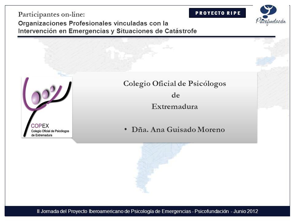 Colegio Oficial de Psicólogos de Extremadura