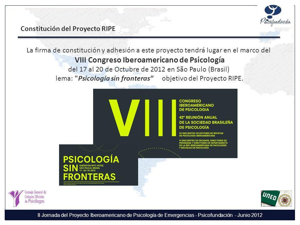 VIII Congreso Iberoamericano de Psicología