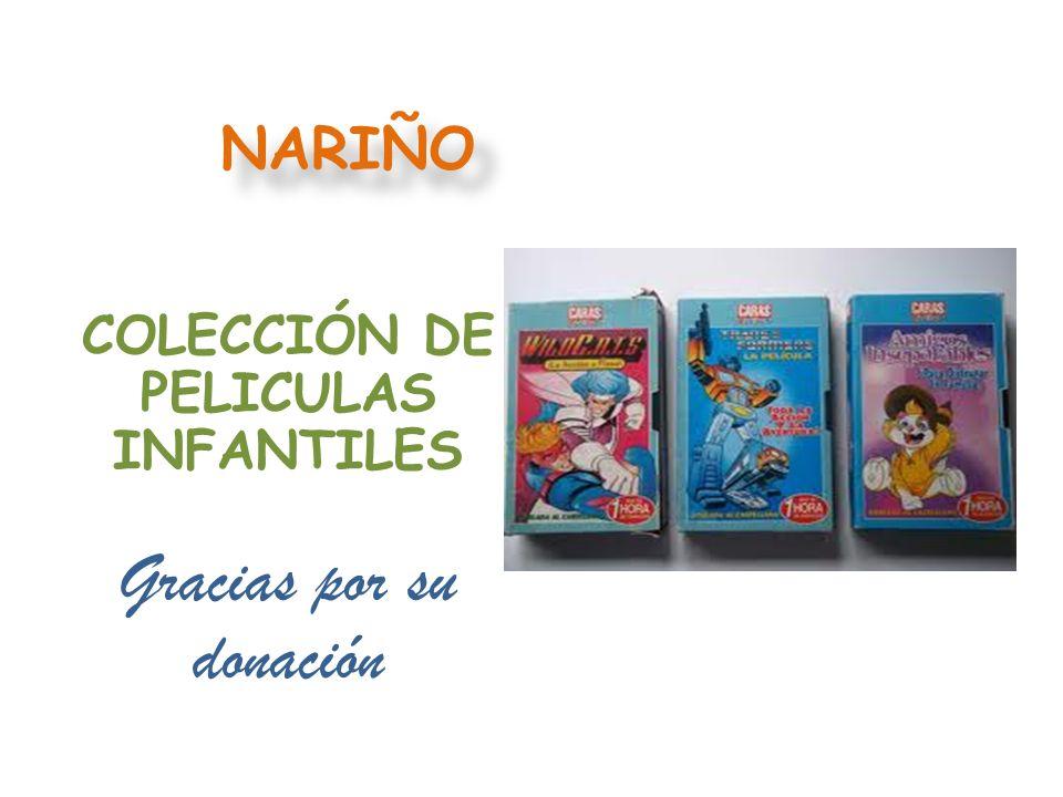 COLECCIÓN DE PELICULAS INFANTILES
